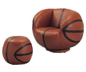 Acme Basketball Chairs & Ottomans