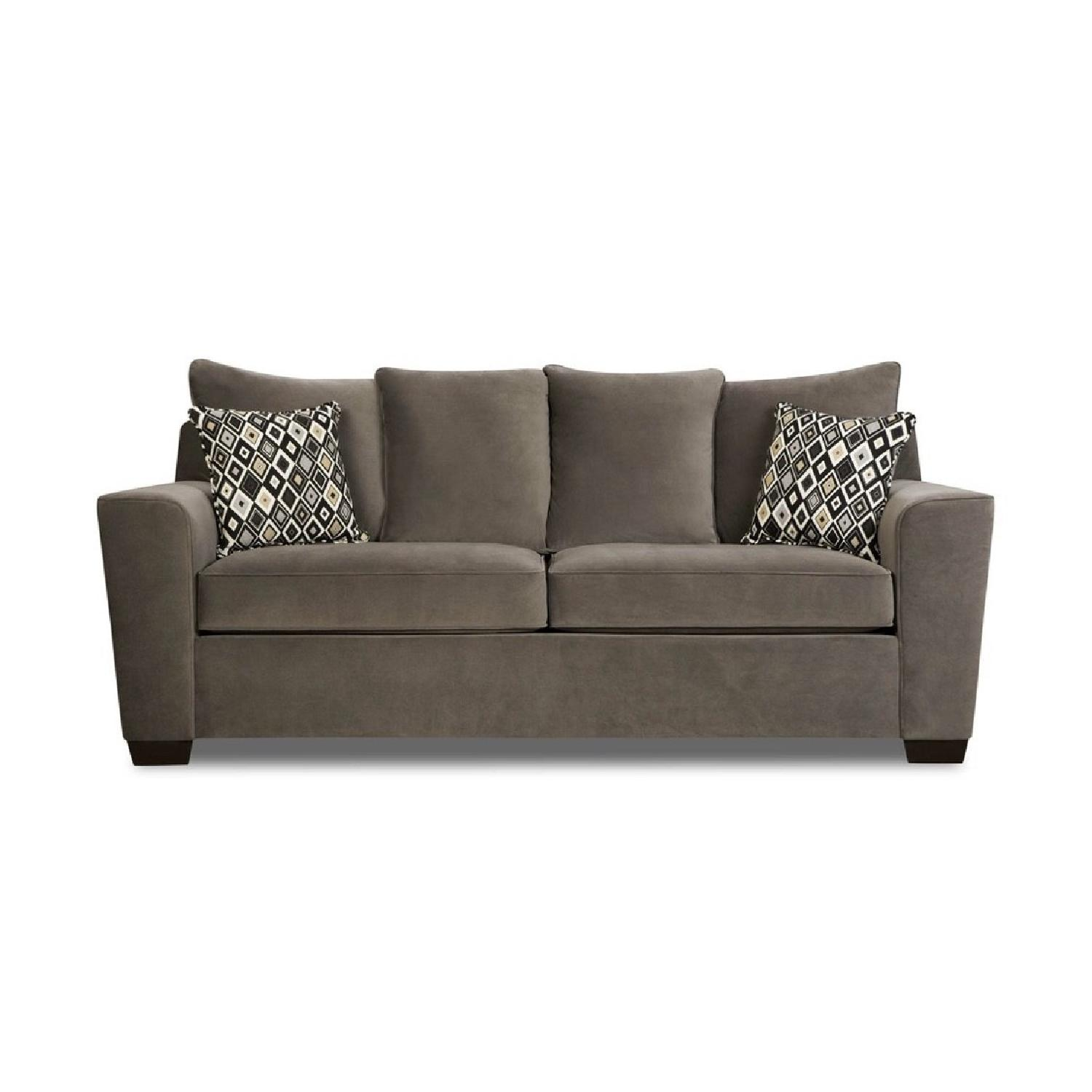 Jennifer Convertible Grey Sleeper Sofa