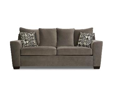 Jennifer Convertible Grey Sleeper Sofa