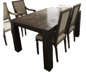 Restoration Hardware Reclaimed Wood Dining Table