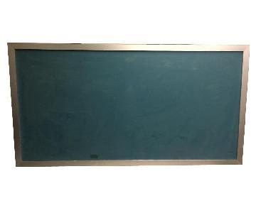 Magnetic Chalkboard w/ Aluminum Frame