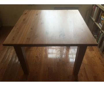 Ikea Stornas Square Dining Table