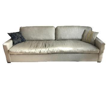 Restoration Hardware Belgian Track Arm Upholstered Sofa