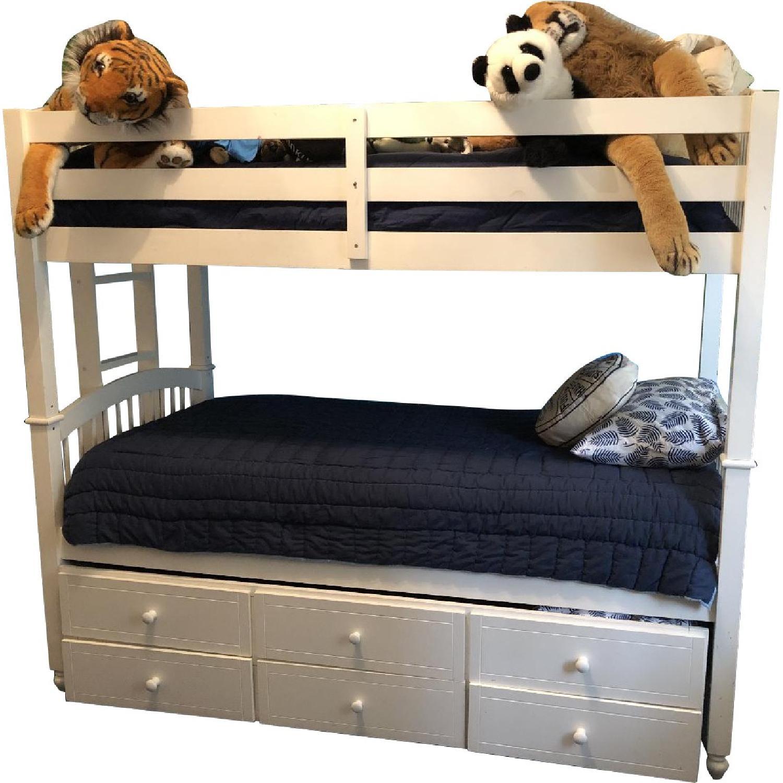 Bunk Bed W Trundle Storage Drawers Aptdeco
