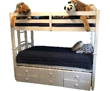 Bunk Bed w/ Trundle & Storage Drawers