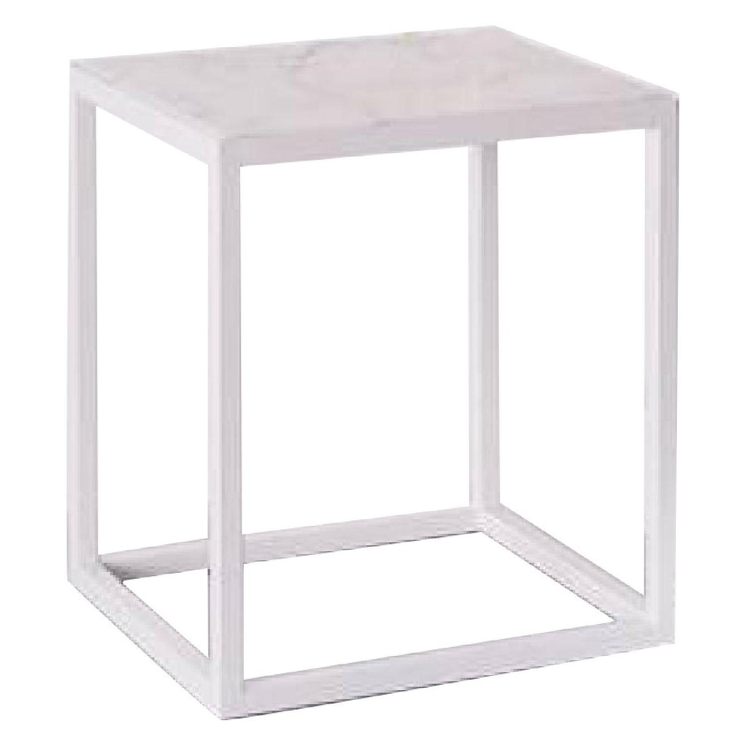 West Elm Pieces by Aesthetic Pursuit Marble Side Table