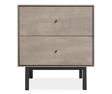 Room & Board Hudson Nightstand in Maple & Steel