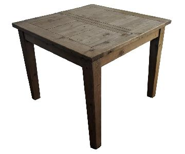 Restoration Hardware Salvaged Wood Extendable Dining Table