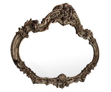 Framed Deco Mirror