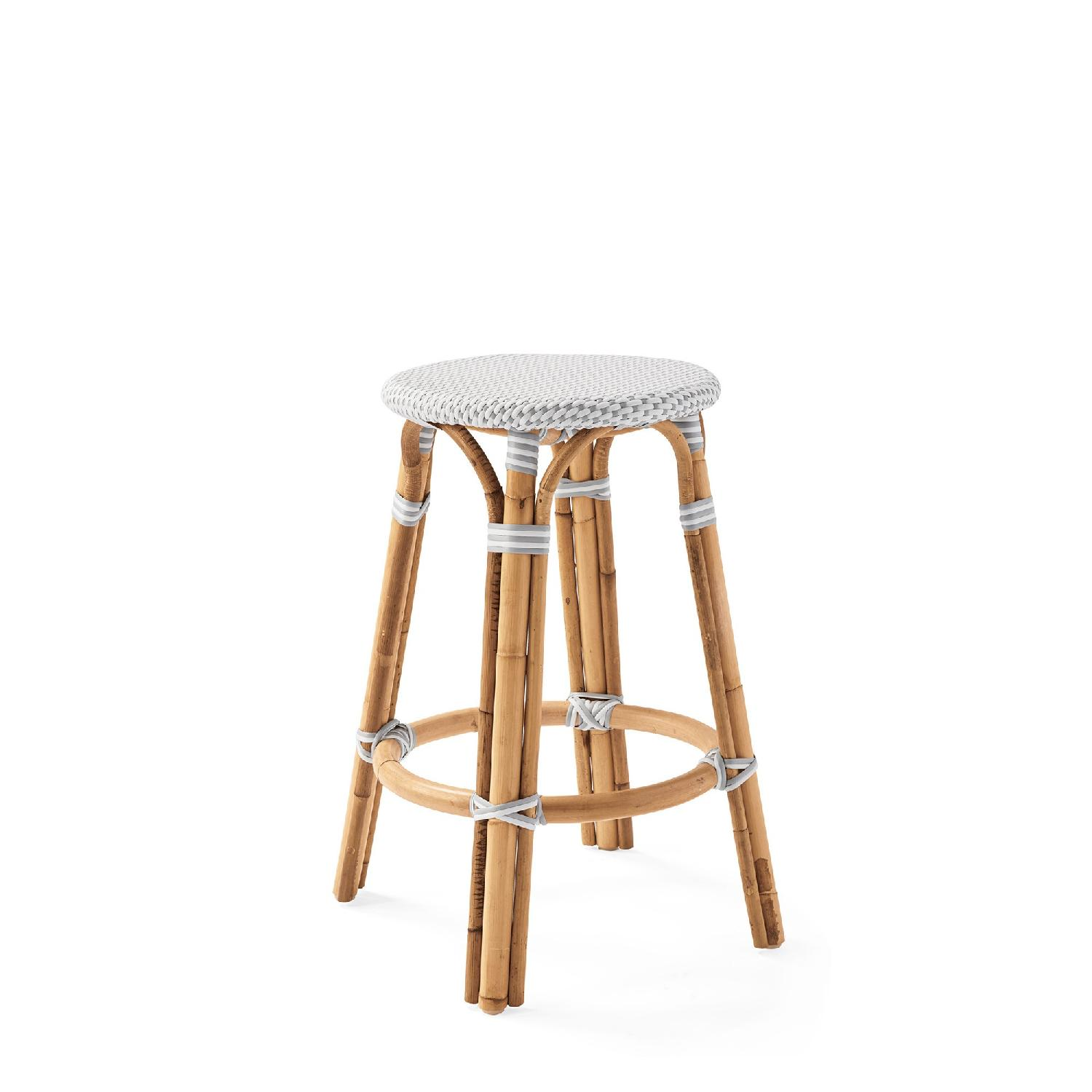 Serena & Lily Riviera Backless Counter Stools