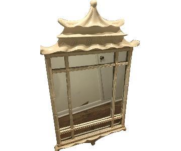 Pagoda Mirror w/ Lacquer Finish