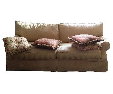 Raymour & Flanigan Sofa & Ottoman