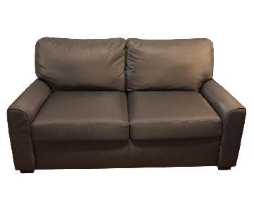 Jensen-Lewis Tempur-Pedic Grey Sleeper Sofa