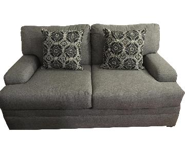 Bob's Grey Loveseat