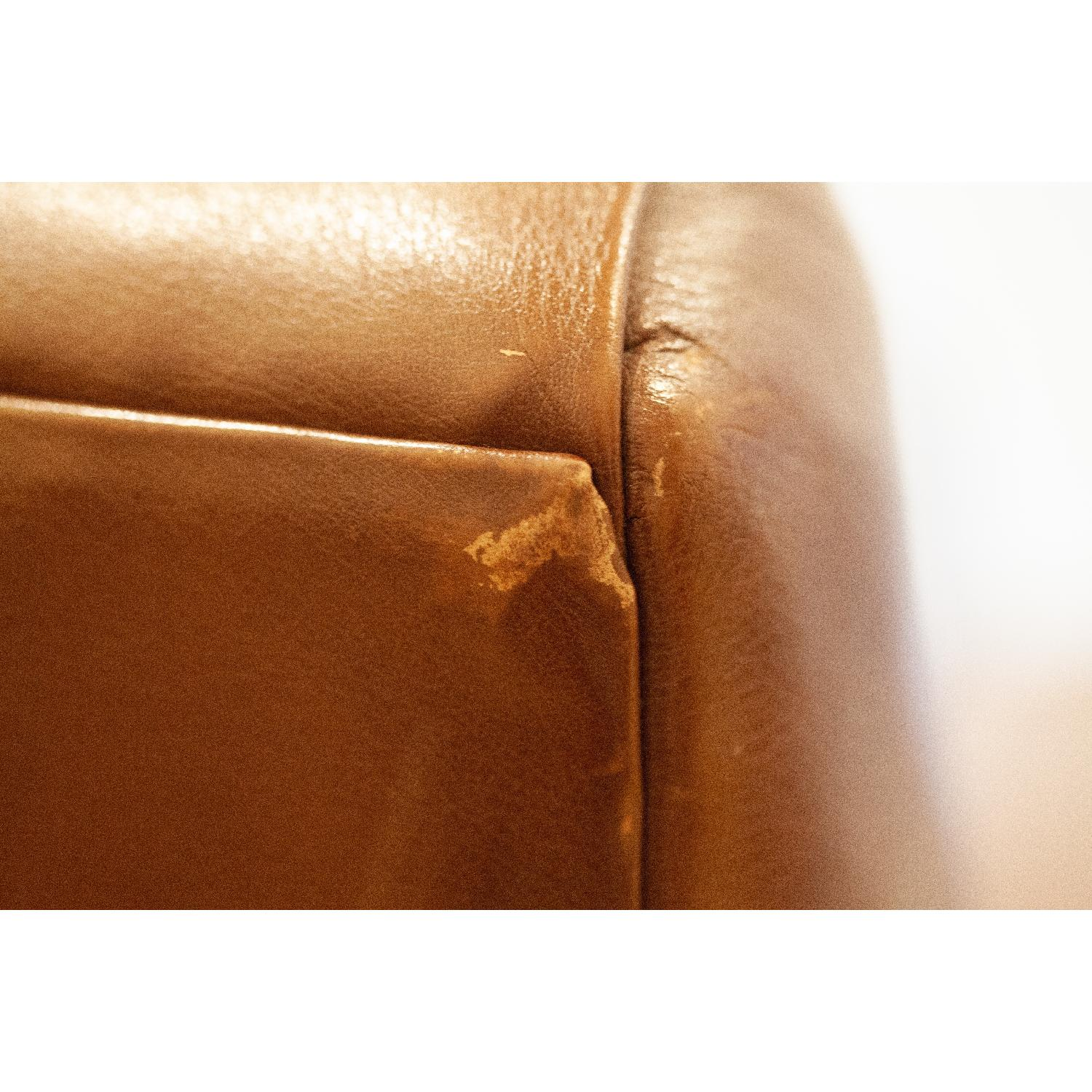 Room & Board Brown Leather Armchair-0