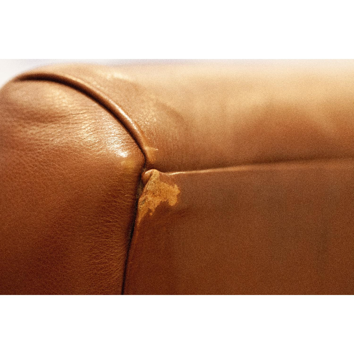 Room & Board Brown Leather Armchair-1