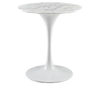 LexMod Lippa Marble Dining Table