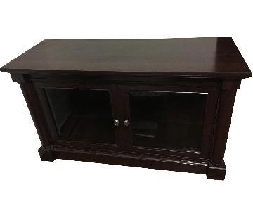 Wood TV/Media Storage Unit
