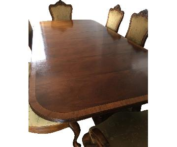 Ethan Allen Mahogany Dining Table