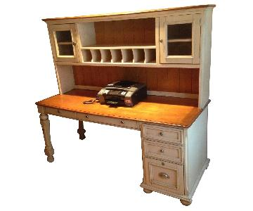 Ashley Brush Hollow Series Modular Desk w/ Hutch