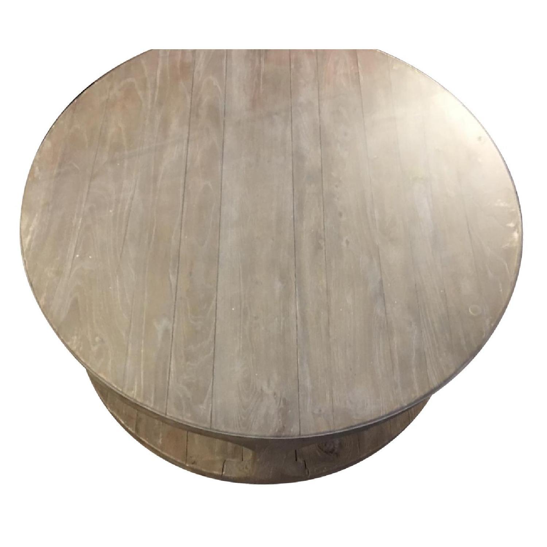 Restoration Hardware Martens Round Coffee Table