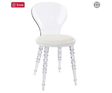 Acrylic Accent Chair