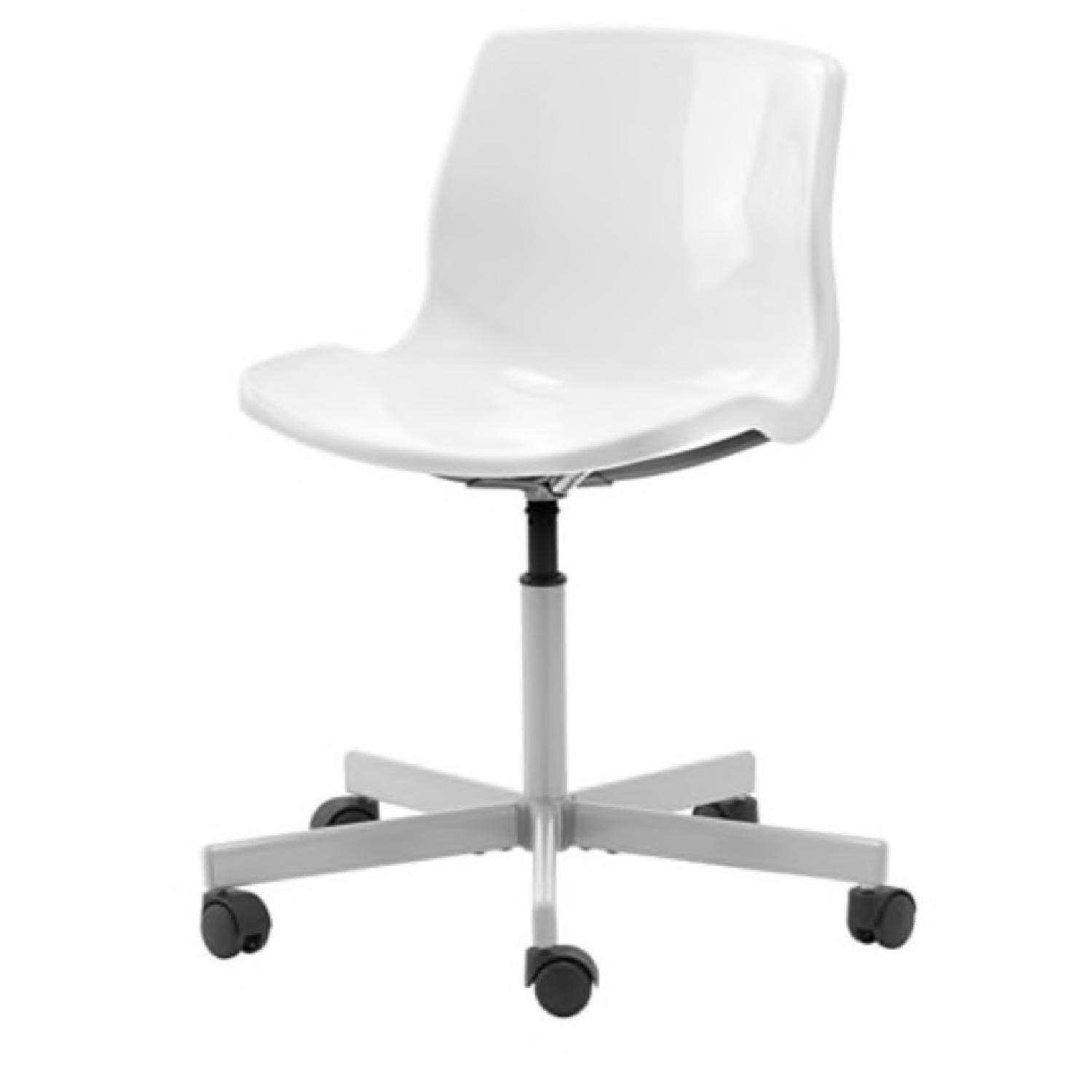 Ikea White Office Chair