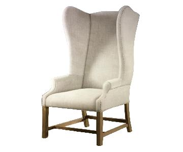 Restoration Hardware French Wingback Chair