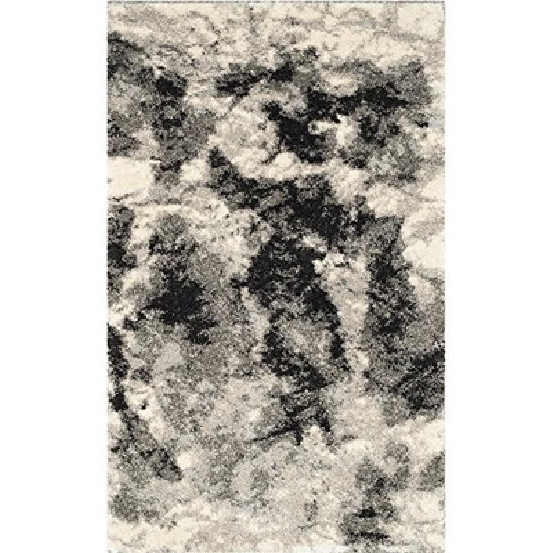 Safavieh Retro Collection Modern Abstract Cream Rug