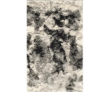 Safavieh Retro Collection Modern Abstract Cream Rug