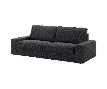 Ikea Kivik Dark Gray Sofa