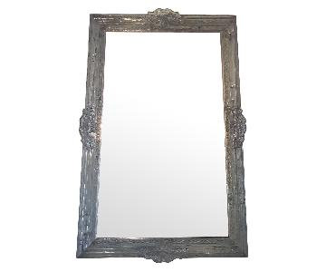 Italian Mirror w/ Baroque Style Acrylic Frame
