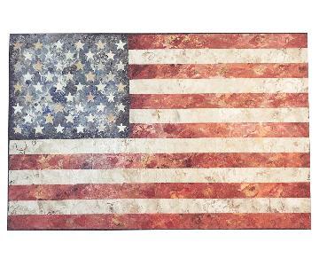 Gavin W Sewell American Flag Pop Art