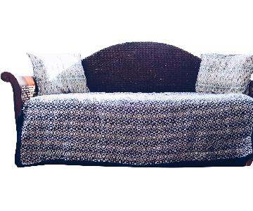 Wood & Rattan DayBed