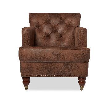 Abbyson Tafton Antique Arm Chair