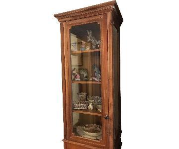 Restoration Hardware Display Cabinet