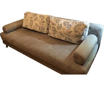 Victor's Villa Queen Size Sleeper Sofa w/ Storage