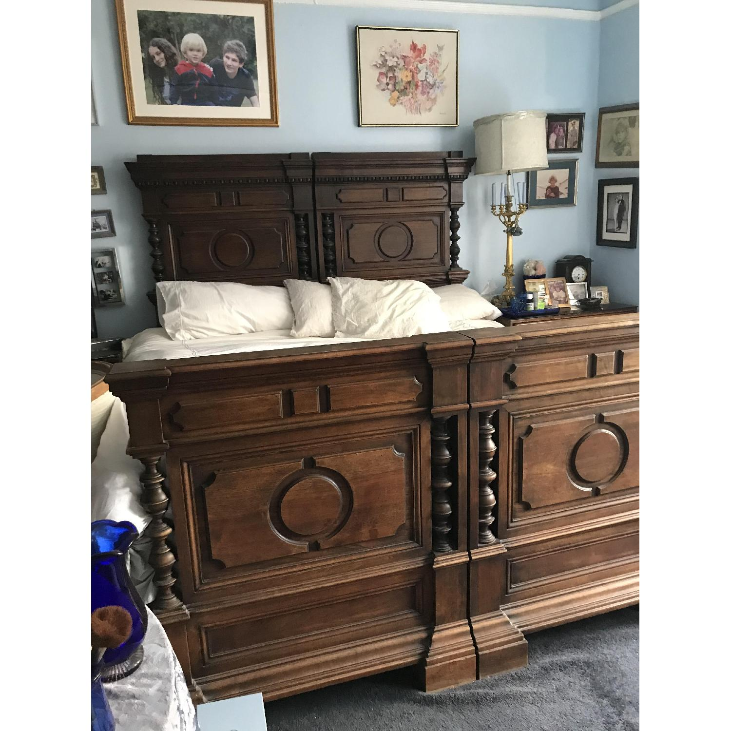 Fiesole Antique King Size Bed-3