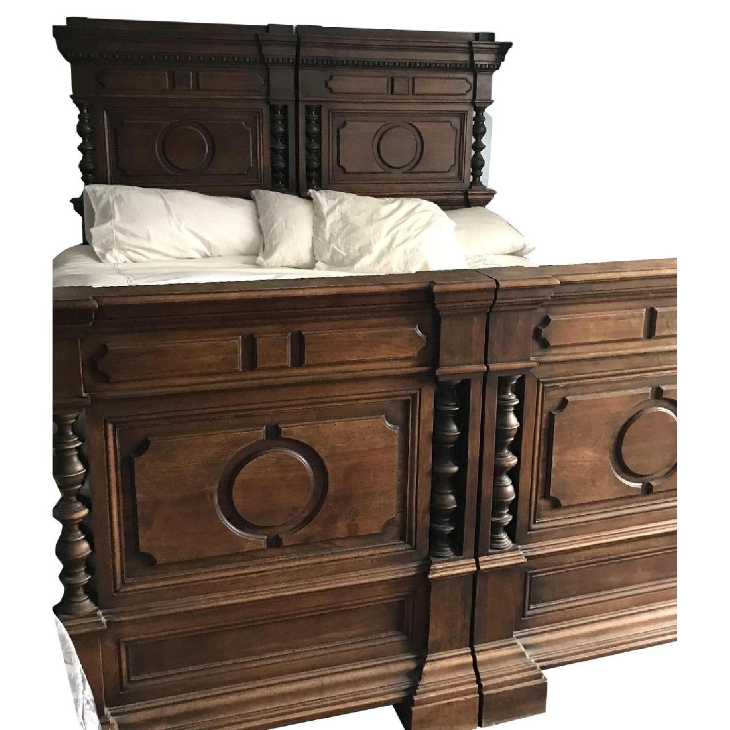 Fiesole Antique King Size Bed