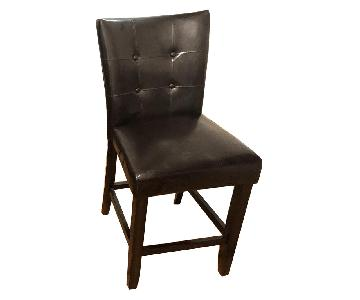 Victors Villa Furniture Faux Leather High Dining Chairs