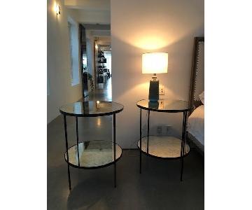 Rejuvenation Mirrored End Tables