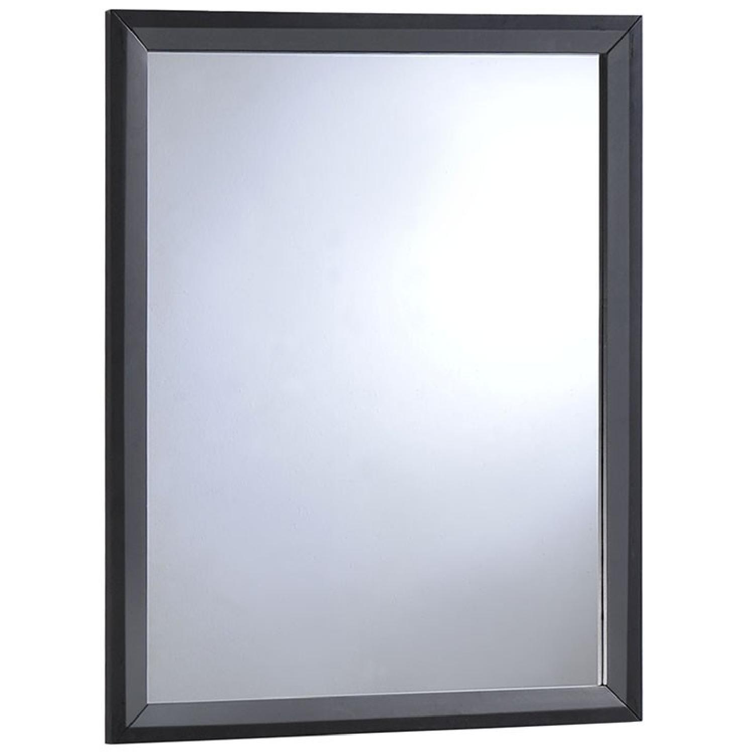 Manhattan Home Design Tracy Mirror in Black