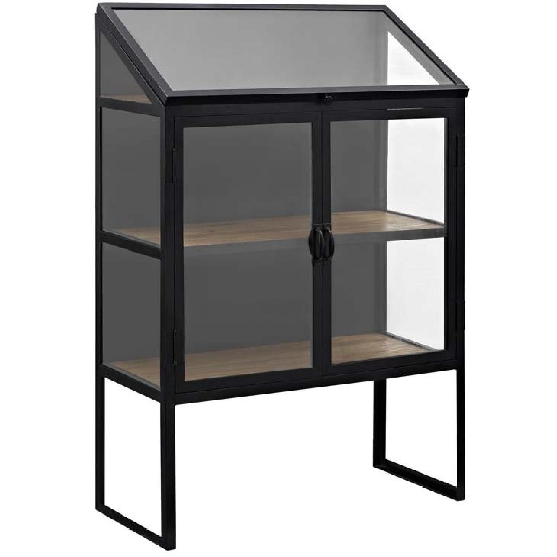 Manhattan Home Design Settle Cabinet in Black