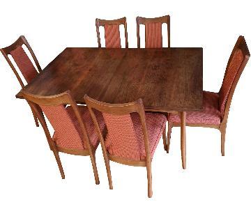 Mid Century 7 Piece Dining Set