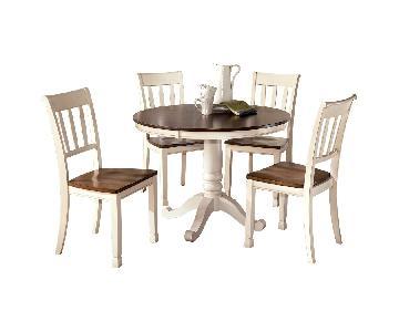 Ashley Signature Design Whitesburg 5-Piece Dining Set