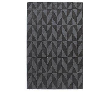 West Elm Andes Wool Rug in Slate