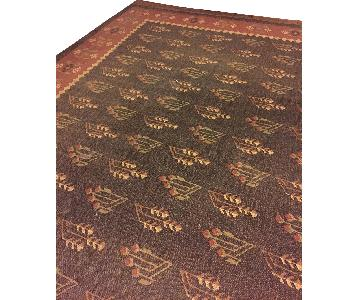 Manhattan Oriental Kilim Jute Antiqued Hand-Knotted Area Rug