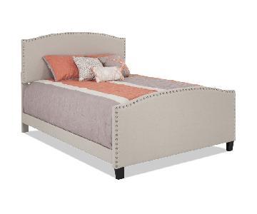 Bob's Upholstered Full Bed Frame