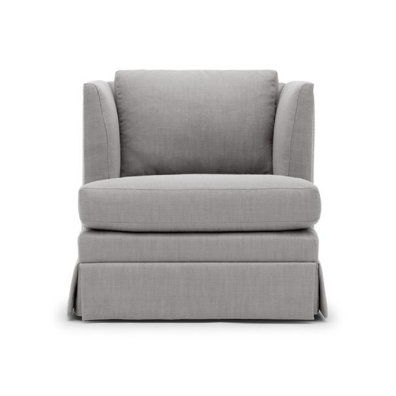 Mitchell Gold + Bob Williams Mariella Chair w/ Skirt