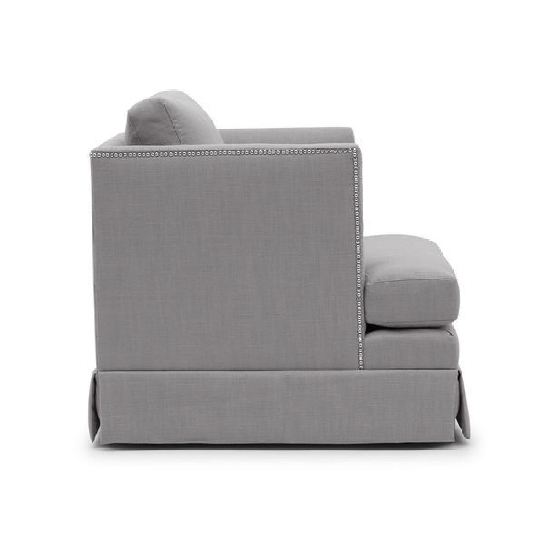 Mitchell Gold + Bob Williams Mariella Chair w/ Skirt-0
